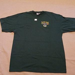 NWOT Green Bay Packers Super Bowl XXXII tee